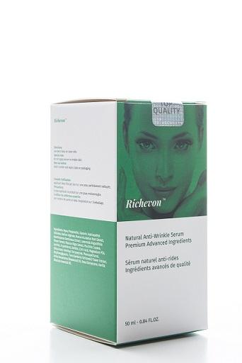 naturalne przeciwzmarszczkowe serum w kremie Richevon